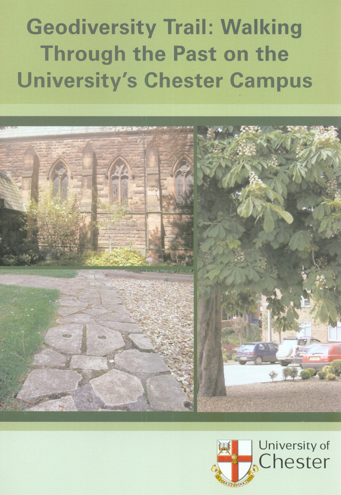 Geodiversity Trail: Walking Through the Past on the University\'s Chester Campus